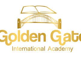 #13 untuk Design a Logo for Golden Gate International Academy oleh Balghari91