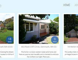 max023miller tarafından WordPress design for a small Real Estate company için no 8
