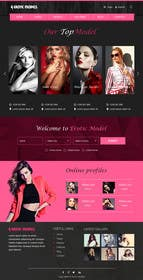 webmastersud tarafından Design for erotic models web site için no 65