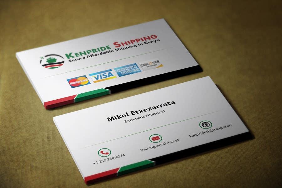 Penyertaan Peraduan #48 untuk Design some Business Cards for shipping company