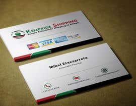 #48 untuk Design some Business Cards for shipping company oleh mamun313