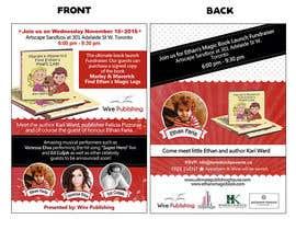 dessdamiani tarafından Design a Postcard for a book launch için no 26