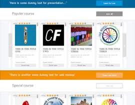 Hezwak tarafından Design a Website Mockup için no 58