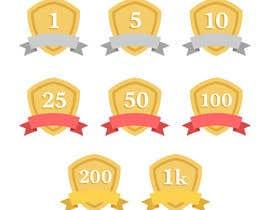 zhenyeinsee tarafından Design Icons/badges for reward platform system için no 2