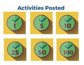 NTLopes tarafından Design Icons/badges for reward platform system için no 1