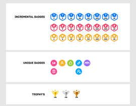 dSaga tarafından Design Icons/badges for reward platform system için no 6