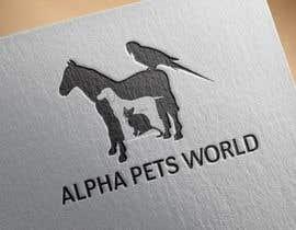 Naumaan tarafından AlphaPetsWorld logo!! için no 37