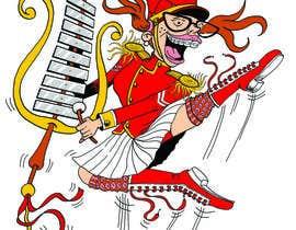 ecomoglio tarafından Illustrate a humorous, energetic marching band performer için no 30