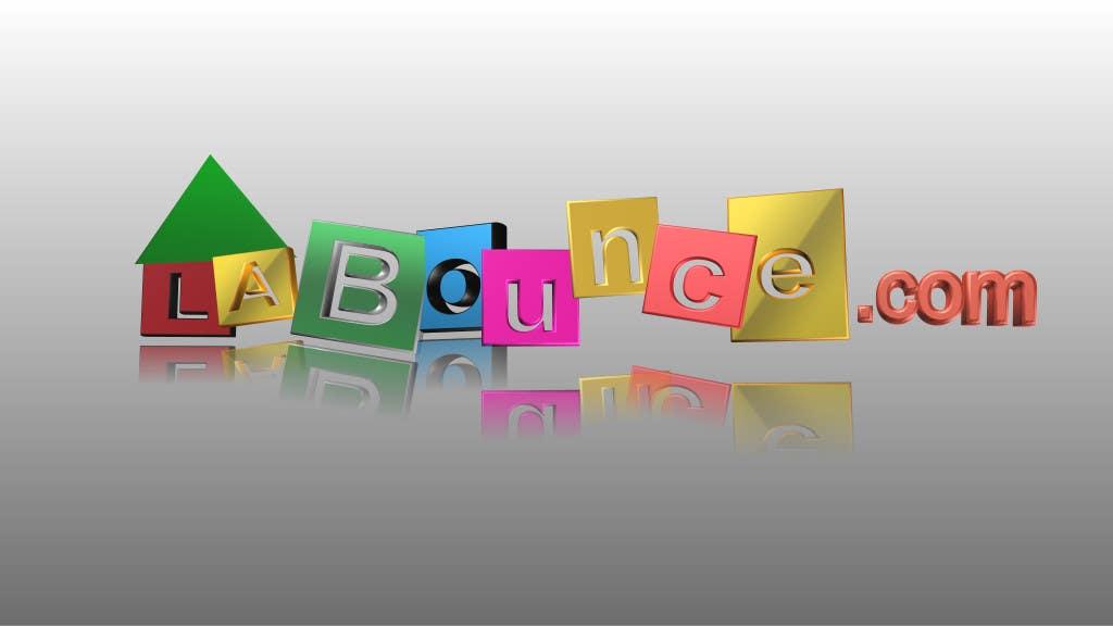 Bounce house logo designs