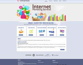 #25 cho Website Design for a Internet Marketing Company bởi infostarvision