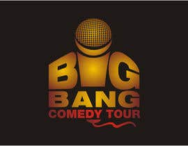 #296 para Logo Design for Big Bang Comedy Tour por astica