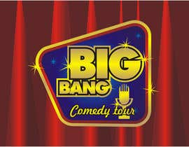 #267 para Logo Design for Big Bang Comedy Tour por astica