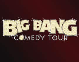 #144 para Logo Design for Big Bang Comedy Tour por upquark
