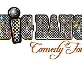 manikmoon tarafından Logo Design for Big Bang Comedy Tour için no 286