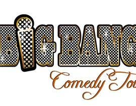 manikmoon tarafından Logo Design for Big Bang Comedy Tour için no 287