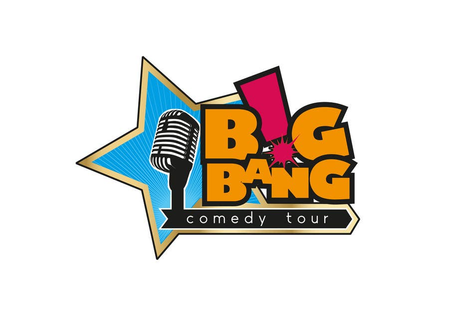 Logo Design for Big Bang Comedy Tour