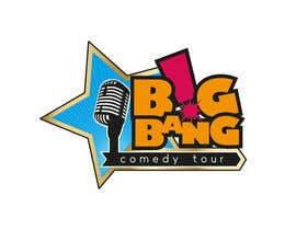 #145 para Logo Design for Big Bang Comedy Tour por mishyroach