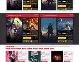 Fingerti tarafından Design a Website Mockup için no 10