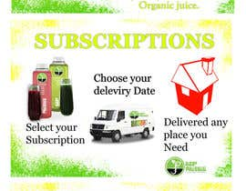 #33 para Design (3) Small Banners for Juice por Zulfi0321