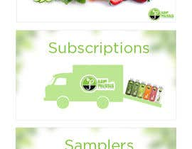 #10 for Design (3) Small Banners for Juice af mpscreativeworks