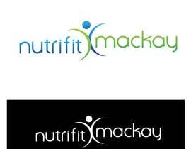 mpscreativeworks tarafından Nutri Fit Mackay logo design required (nutrition & fitness) için no 12