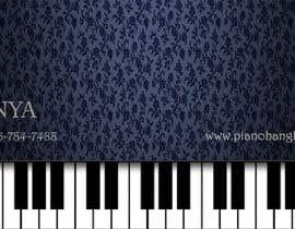 harshanadineth tarafından Design business card for a piano teacher için no 12