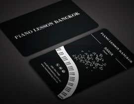 BikashBapon tarafından Design business card for a piano teacher için no 22