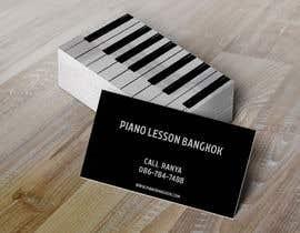 hussammarzouk tarafından Design business card for a piano teacher için no 9