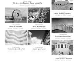 Saheb9804 tarafından architecture website mockup için no 11