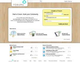 #43 para Website Design for Forums.com por Kashins