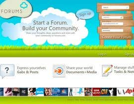 #44 , Website Design for Forums.com 来自 Natch