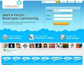 #34 dla Website Design for Forums.com przez rajranjan12