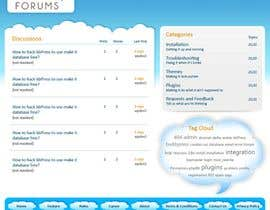 #36 dla Website Design for Forums.com przez rajranjan12