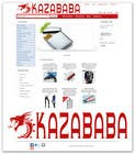 #106 for Logo Design for kazababa by ROCCO965
