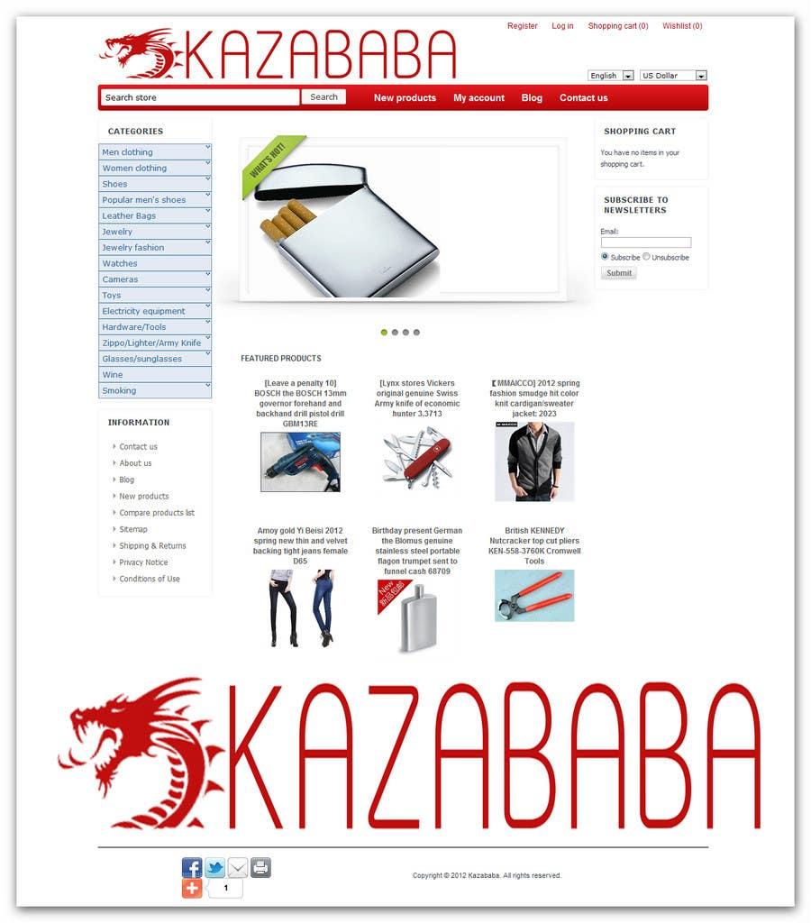 Proposition n°                                        103                                      du concours                                         Logo Design for kazababa