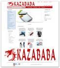 Graphic Design Contest Entry #104 for Logo Design for kazababa