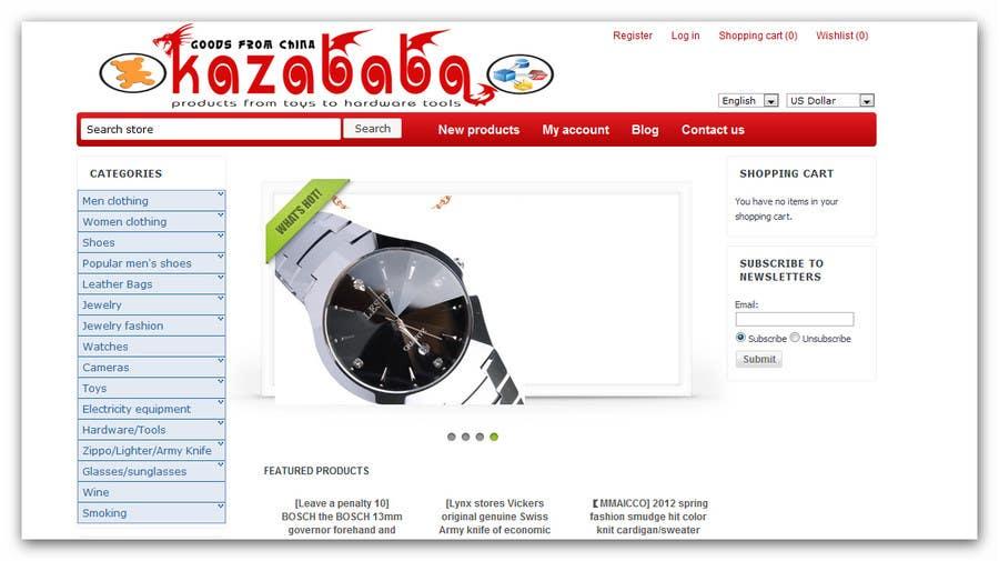 Proposition n°                                        68                                      du concours                                         Logo Design for kazababa