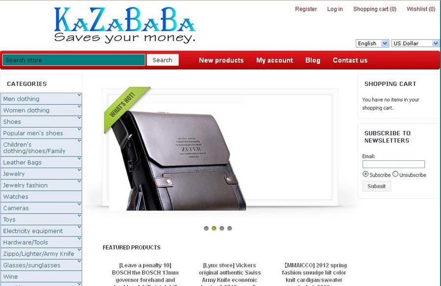 Proposition n°                                        169                                      du concours                                         Logo Design for kazababa