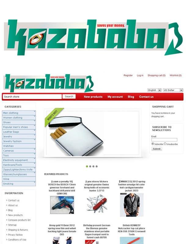 Proposition n°                                        177                                      du concours                                         Logo Design for kazababa