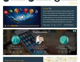 imranwebdesigner tarafından Design a Website Mockup için no 8