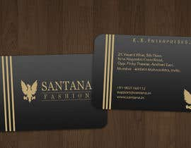 shah14sarvesh tarafından Business Card & Letter Head Designing for Santana Fashion için no 3