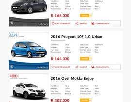 webmastersud tarafından Re-design 2 website landing pages (Netcars Search page) için no 30