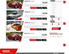 anastradi tarafından Re-design 2 website landing pages (Netcars Search page) için no 12