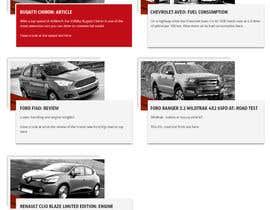 omwebdeveloper tarafından Re-design 2 website landing pages (Netcars Search page) için no 25