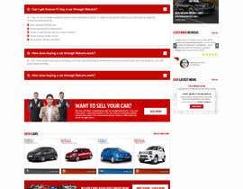 nikil02an tarafından Re-design 2 landing pages on a website (Netcars About & FAQ) için no 52
