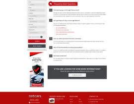 omwebdeveloper tarafından Re-design 2 landing pages on a website (Netcars About & FAQ) için no 31