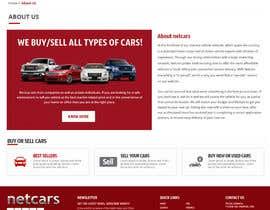 omwebdeveloper tarafından Re-design 2 landing pages on a website (Netcars About & FAQ) için no 42