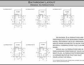 reem1794 tarafından Design a bathroom layout için no 4