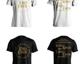 winkeltriple tarafından Design a T-Shirt - The Lord of the Ring Style için no 91