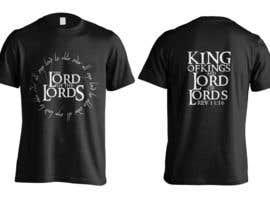 jeffnelshabong tarafından Design a T-Shirt - The Lord of the Ring Style için no 14